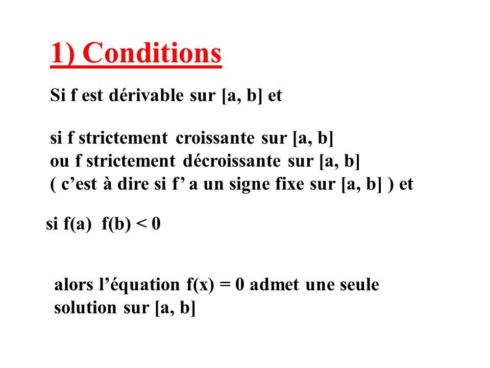 Si f est dérivable sur [a, b] et